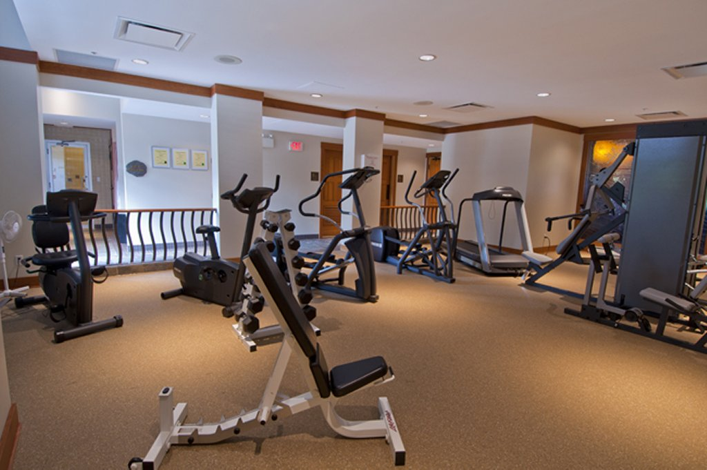 Whistler Luxury Ski In Ski Out Hotel - First Tracks Fitness Room