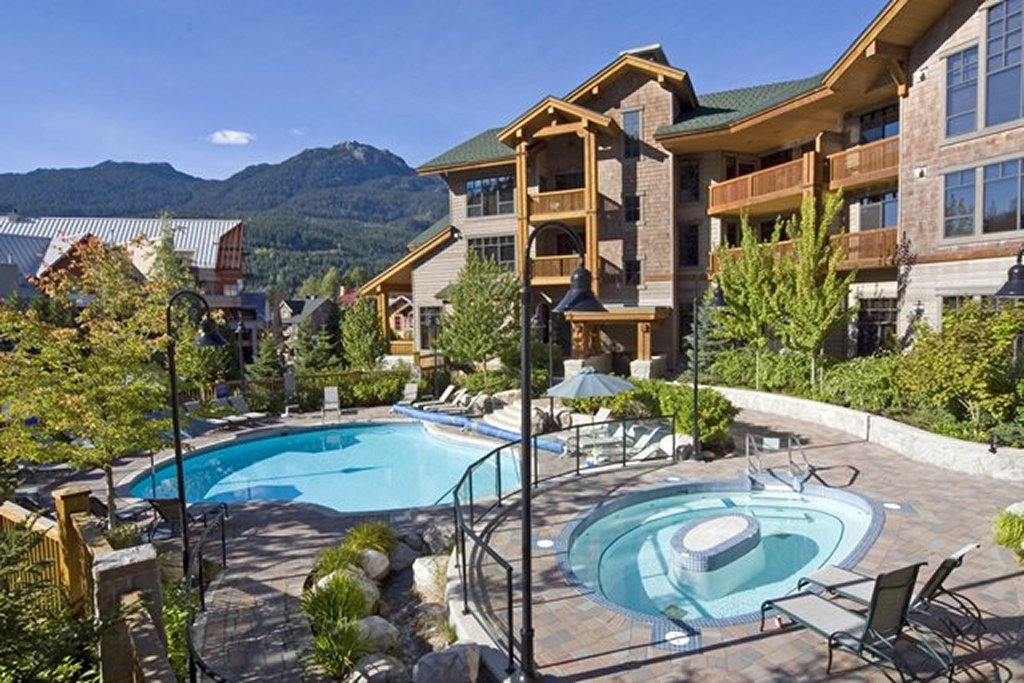 Whistler Luxury Ski In Ski Out Hotel - First Tracks Pool Hot Tub