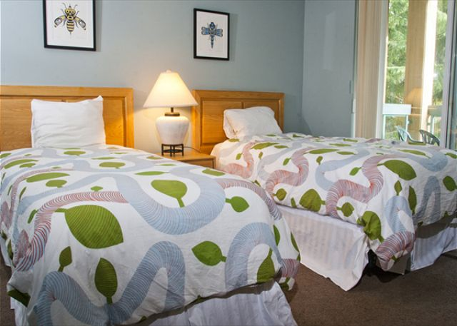 Spacious well appointed bedrooms.