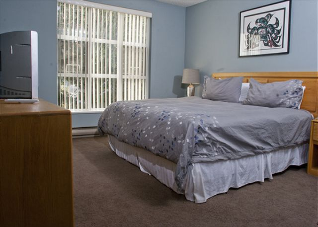 Snowbird offers Whistler guests spacious accommodation with large bedrooms.