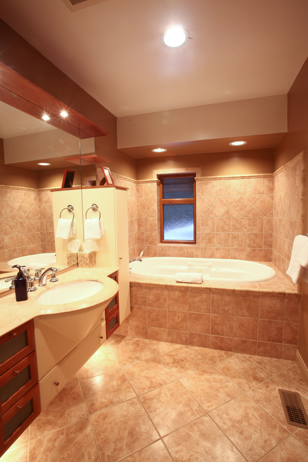 Whistler European Style Luxury Chalet Bath