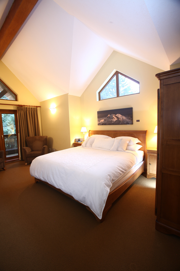 Whistler European Style Luxury Chalet Bedroom