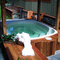Whistler European Style Luxury Chalet Hot Tub
