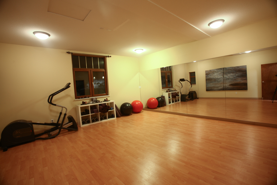 Whistler European Style Luxury Chalet Yoga/Fitness Studio