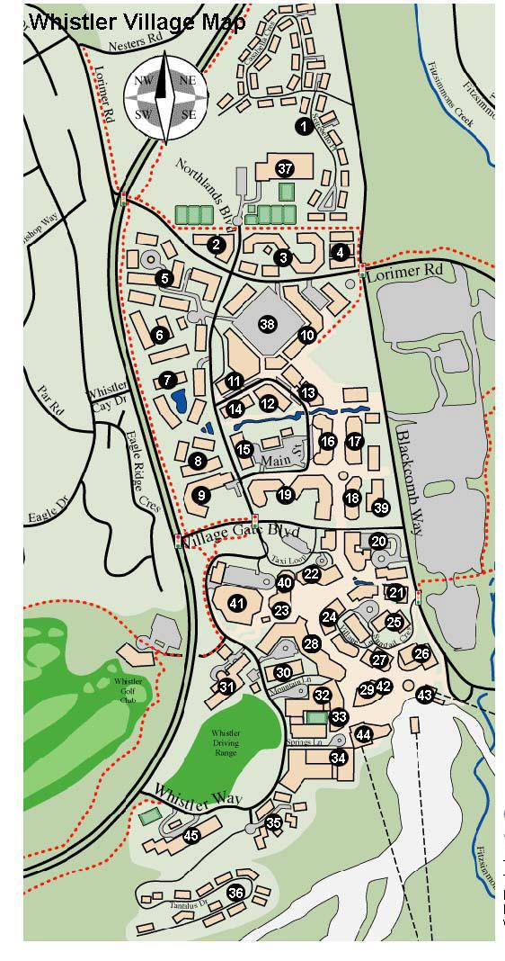 Whistler Accommodation Village North