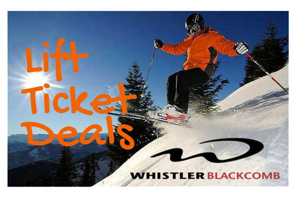 Whistler lift ticket coupons